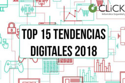 TOP 15 de tendencias digitales en 2018